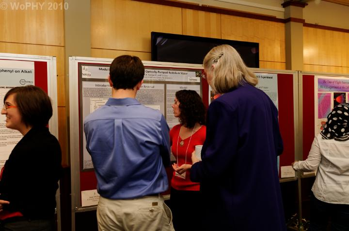 Poster presentation by Joan Dreiling