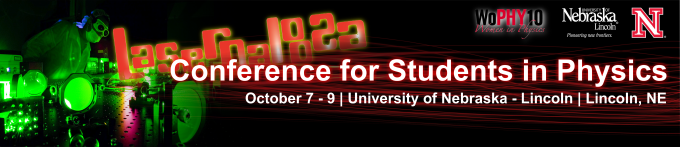 Conference for Undergraduate Women in Physics - LASERPALOOZA