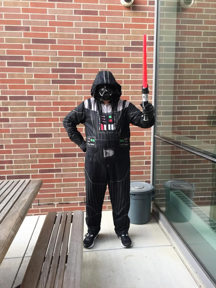 Lab Manager Darth Vader