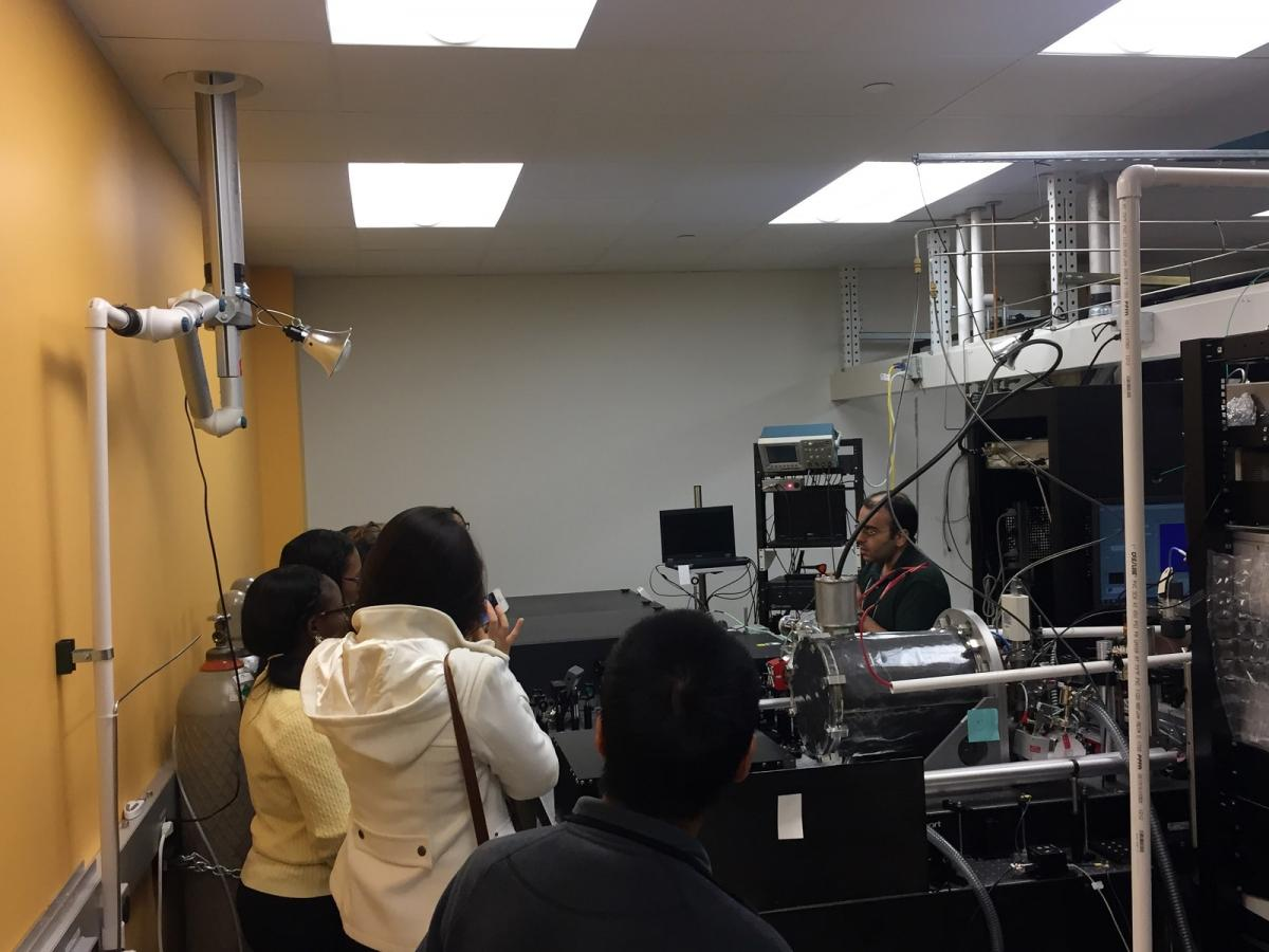 Jorgensen Hall lab tour